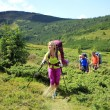 Summer hiking in the mountains. — Stock Photo #41395987