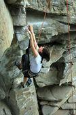 Climber. — Stock Photo
