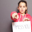 Miss You — Stockfoto