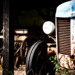 Stock Photo: Old tractor