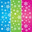 Stock Vector: Snowflakes 1