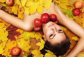 Perfect autumn beauty — Stock Photo