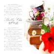 Stock Photo: Shabby chic Still life