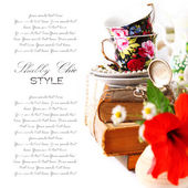 Shabby chic stilleven — Stockfoto