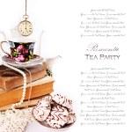 Romantic tea party — Stock Photo #14564545