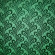 Green vintage fabric texture - Stock Photo