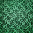Royalty-Free Stock Photo: Green vintage fabric texture