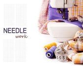 縫製の背景 — ストック写真