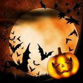 Halloween illustration — Stock Photo