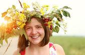 Summer girl — Stockfoto