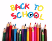 """Concept image """"Back to school"""" — Stock Photo"""