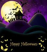 Happy Halloween ilustration — Stock Photo