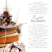 English tea party — Stockfoto