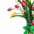 Closeup image Bouquet of spring flower - Stock Photo