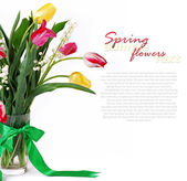 Bouquet of spring flower — Stock Photo