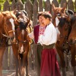 Постер, плакат: Cossacks with horses