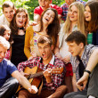 Happy teenage friends — Stock Photo #25926483