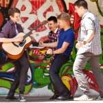 ifade şarkı gitar — Stok fotoğraf