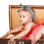Sweet baby girl portrait — Stock Photo