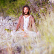 Deep meditated man portrait — Stock Photo #29985805