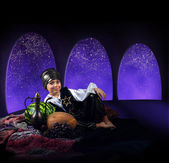 Arabian magic night — Stock Photo