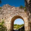 Archway in citadel ruins — Stock Photo