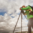 Photographer at work — Stock Photo