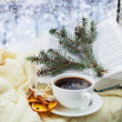 Romantic christmas still life — Stock Photo