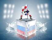 Russia-Slovenia — Stock Photo