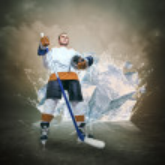 Hockey player — Stock Photo #50800591