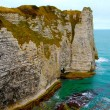 The Cliffs of Etretat - Foto de Stock  