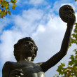 Statue in the Luxembourg Gardens, Paris — Stock Photo