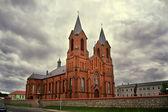 Miory kostel nanebevzetí panny marie — Stock fotografie