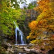 Waterfall in the autumn-2 — Stock Photo