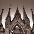Roman catholic church — Stock Photo