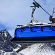 Blue cableway — Stock Photo #14382797