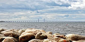 Oresund bridge — Stock Photo