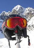 Skiing in High Tatras mountains — Stock Photo