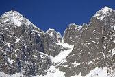 Lomnicky stit - peak in High Tatras mountains — Stock Photo