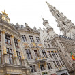 Grand place - famous square in Brussels — Stock Photo