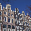 Amsterdam architecture from boat — Stock Photo #23670069