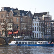 Amsterdam architecture — Stock Photo