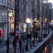 Stock Photo: Red light district in Amsterdam