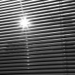 Sun and blinds — Stock Photo