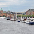 Panorama of Stockholm, Sweden — Stock Photo