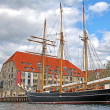 Old ship in Copenhagen, Denmark — Stock Photo