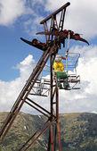Old ropeway, Slovakia — Stock Photo
