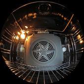 Inside oven — Stock Photo