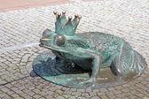 żaba - fontanna — Zdjęcie stockowe