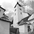 Historical church in Spania dolina, Slovakia — Stock Photo